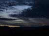 Západ slunce u Kratochvíle a u Husince